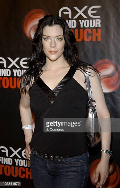 Kim Director during AXE Find Your Touch 'Dark' Party at Guccione Mansion in New York City New York United States