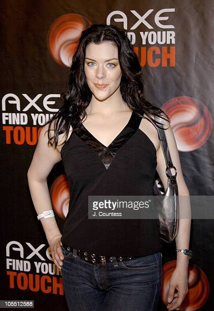 Kim Director during AXE Find Your Touch Dark Party at Guccione Mansion in New York City New York United States
