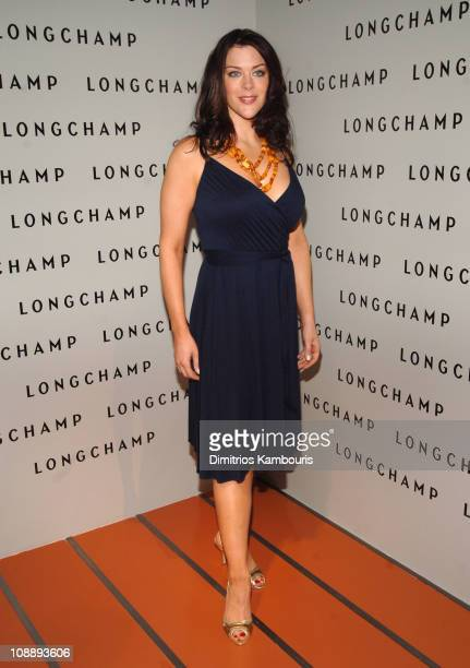 Kim Director during Grand Opening of La Maison Unique Longchamp in Soho at 132 Spring Street in New York City New York United States
