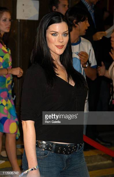 Kim Director during STUFF Magazine PreVMA Party Hosted by Missy Elliott and Dave Meyers at Show in New York City New York United States
