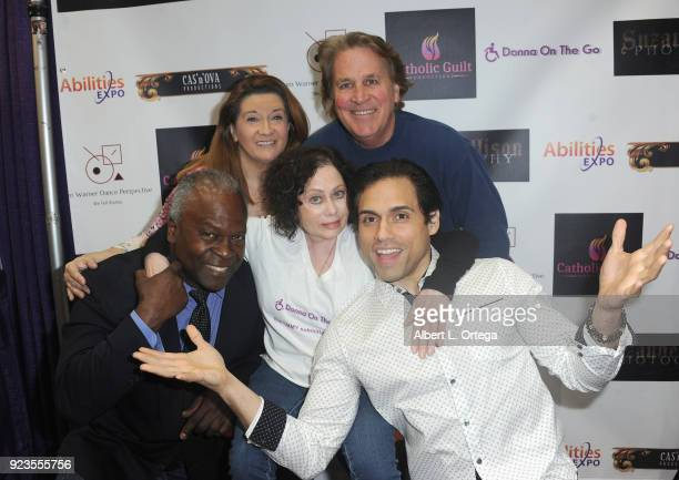 Kim Estes Peggy Lane O'Rourke Donna Russo Vince Deadrick Jr and Danny Arroyo at the Screening of Season 2 of 'Donna On The Go' as part of The...