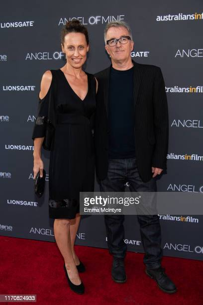"""Kim Farrant and Luke Davies attend the special screening of Lionsgate's """"Angel of Mine"""" at Raleigh Studios on August 28, 2019 in Los Angeles,..."""