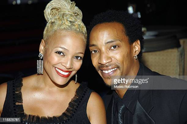 Kim Fields and Husband during 2007 Trumpet Awards Show at The Bellagio Hotel in Las Vegas Nevada United States