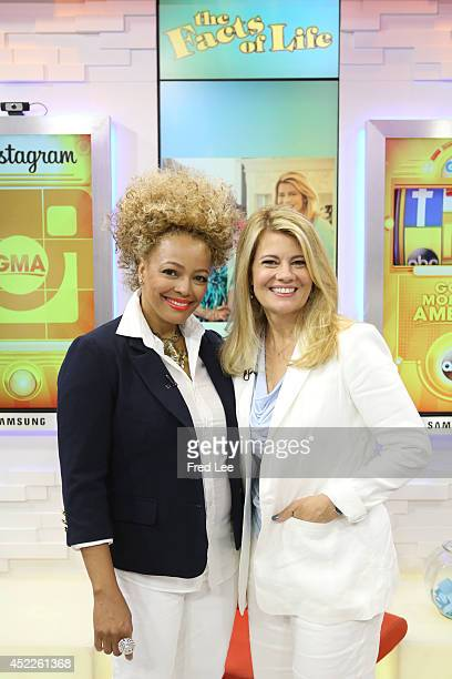AMERICA Kim Fields and Lisa Whelchel of 'The Facts of Life' are guests on 'Good Morning America' 7/16/14 airing on the ABC Television Network
