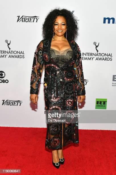 Kim Fields attends the 2019 International Emmy Awards Gala on November 25 2019 in New York City