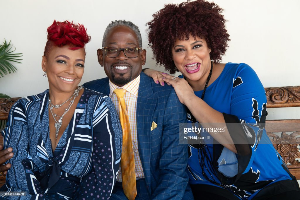 Kim Fields Terrence C Carson And Coles Attend A Special Taping Hosted By