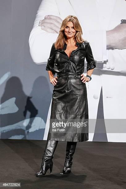 Kim Fischer attends the 'Spectre' German Premiere on October 28 2015 in Berlin Germany