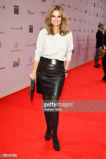 Kim Fisher arrives at Tribute To Bambi at Station on October 17 2013 in Berlin Germany