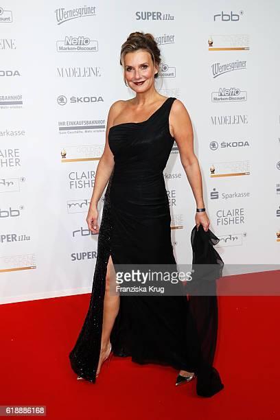 Kim Fisher attends the Goldene Henne on October 28 2016 in Leipzig Germany