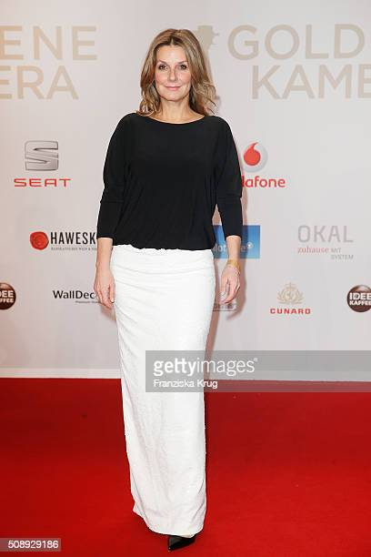 Kim Fisher attends the Goldene Kamera 2016 on February 6 2016 in Hamburg Germany