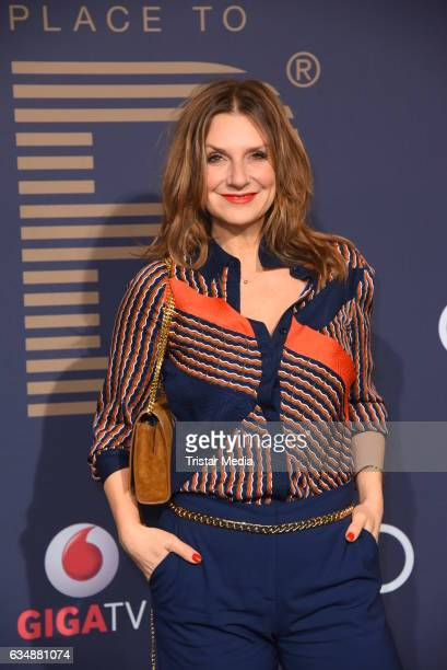 Kim Fisher attends the PLACE TO B Party at Borchardt on February 11, 2017 in Berlin, Germany.