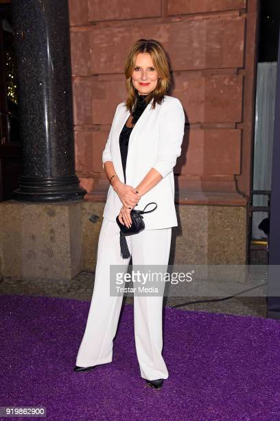 Kim Fisher attends the PLACE TO B Party on February 17, 2018 in Berlin, Germany.