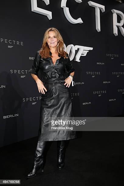 Kim Fisher attends the Spectre' German Premiere on October 28 2015 in Berlin Germany