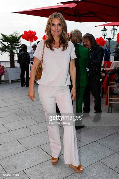 Kim Fisher during the 'Ein Herz fuer Kinder' summer party at Wannseeterrassen on May 26 2016 in Berlin Germany