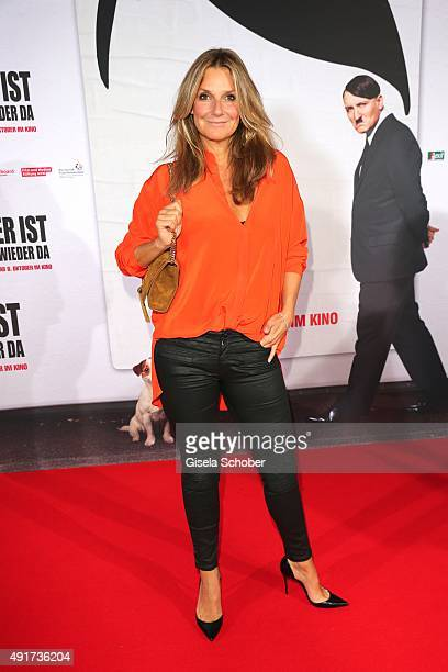 Kim Fisher during the special screening of the film 'Er ist wieder da' at Mathaeser Filmpalast on October 7 2015 in Munich Germany