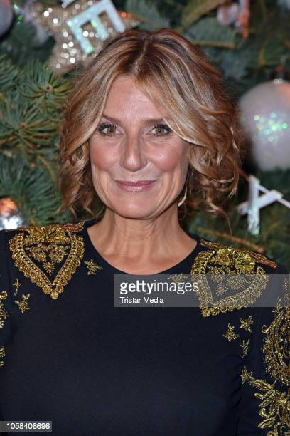Kim Fisher during the taping of the MDR TV show 'Weihnachten bei uns' at Stadthalle on November 6, 2018 in Zwickau, Germany. The show will be aired...