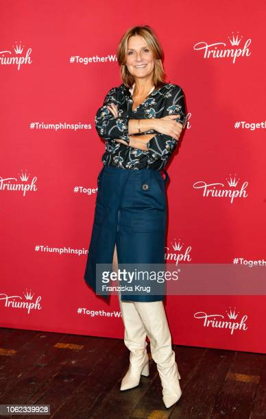 Kim Fisher during the Triumph event at Soho House on November 16, 2018 in Berlin, Germany.