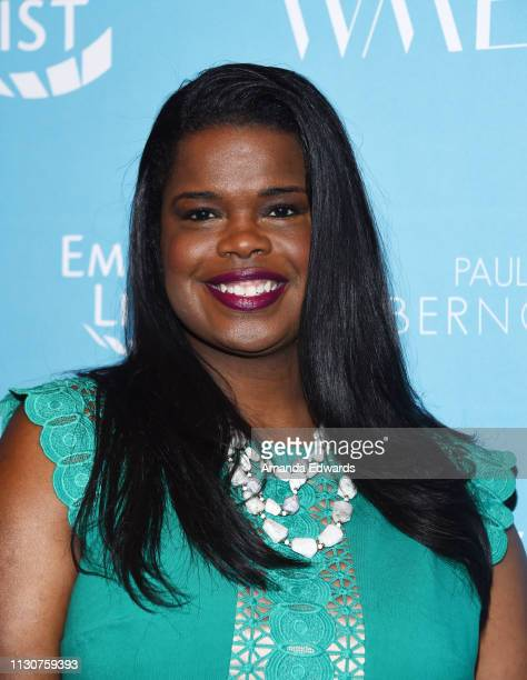 Kim Foxx arrives at the EMILY's List 2nd Annual PreOscars Event at the Four Seasons Los Angeles at Beverly Hills on February 19 2019 in Los Angeles...