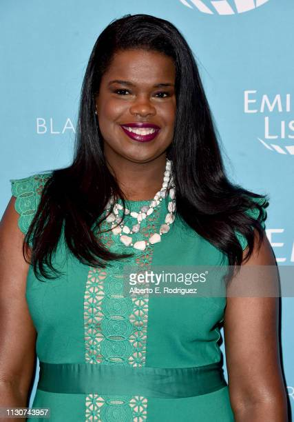 Kim Foxx attends EMILY's List 2nd Annual PreOscars Event at Four Seasons Los Angeles at Beverly Hills on February 19 2019 in Los Angeles California
