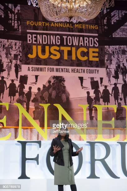 Kim Foxx States Attorney Cook County Illinois was among the advocates speaking at The Kennedy Forum National Summit On Mental Health Equity And...