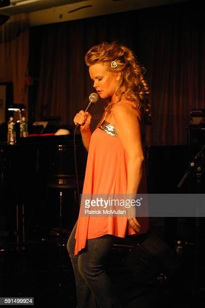 Kim Garfunkel attends Kim Garfunkel Performs at The Makor Center Caf on December 5 2005 in New York City