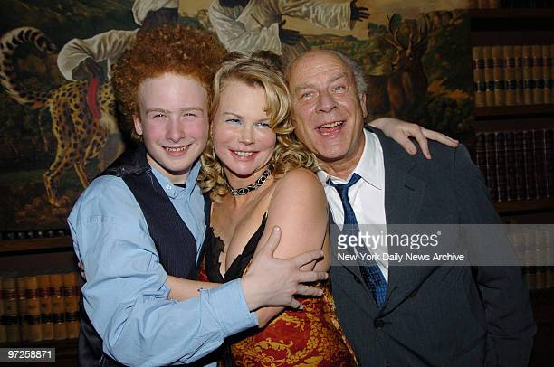 Kim Garfunkel with husband Art and son James at Le Jazz Au Bar on E 58th St where she made nightclub debut