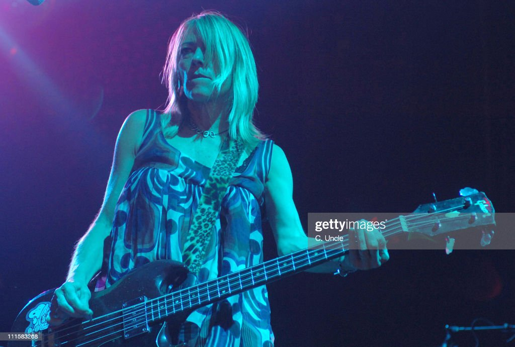 Kim Gordon of Sonic Youth during V Festival 2005 - Weston Park - Day Two at Weston Park in Lichfield, Staffordshire, Great Britain.