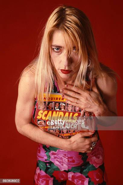 Kim Gordon Sonic Youth NYC 1990 @ Laura Levine