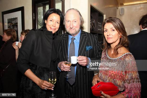 Kim Harriston Ed Victor and Tiggy Maconochie attend Lehmann Maupin Gallery TRACEY EMIN Opening and Party at Wallse at Lehmann Maupin Gallery on...