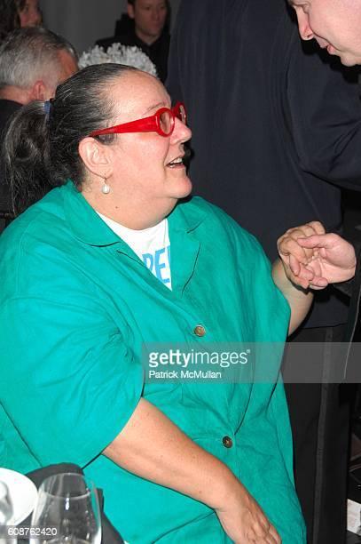 Kim Hastreiter attends National Design Awards at Cooper-Hewitt National Design Museum N.Y.C on October 18, 2007.