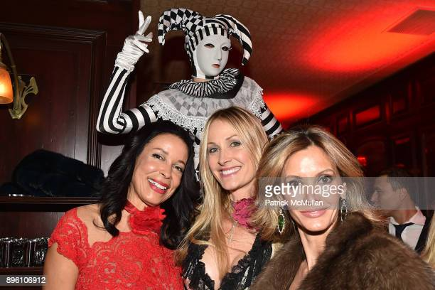 Kim Heirston Evans Chris Mack and Ulla Parker attend Julie Macklowe's 40th birthday Spectacular at La Goulue on December 19 2017 in New York City