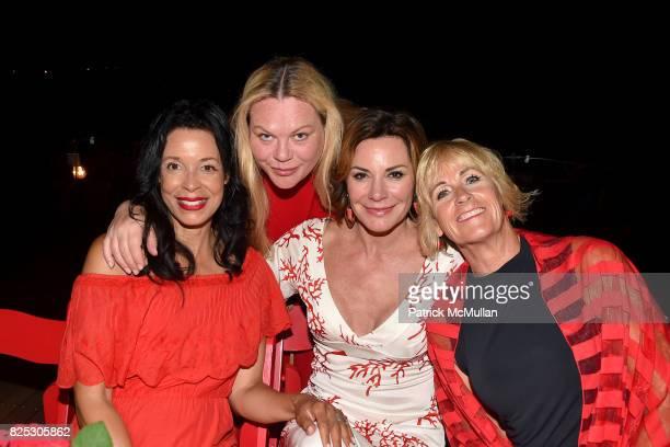Kim Heirston Evans Katharina OttoBernstein Luann D'Agostino and Sabina Cowie attend Janna Bullock Celebrates an Endless Summer at Private Residence...