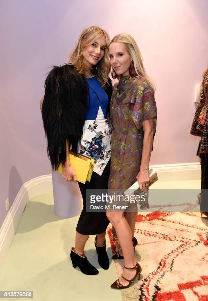 Kim Hersov and Alice NaylorLeyland attends the Peter Pilotto Townhouse opening on September 17 2017 in London England
