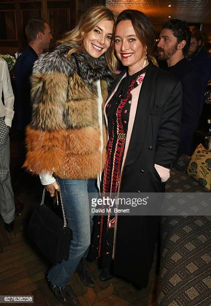 Kim Hersov and Alice Temperley attend The Fashion Awards in partnership with Swarovski nominees' lunch hosted by the British Fashion Council with...