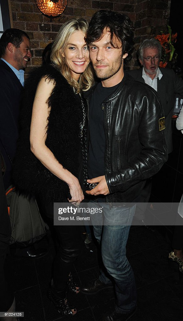 Kim Hersov and Barry Reigate attend the afterparty following the press night of 'Speaking In Tongues', at the Jewell Bar on September 28, 2009 in London, England.