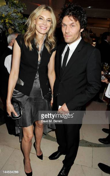 Kim Hersov and Barry Reigate attend the Marie Curie Cancer Fundraiser hosted by Heather Kerzner at Claridge's Hotel on May 15 2012 in London England