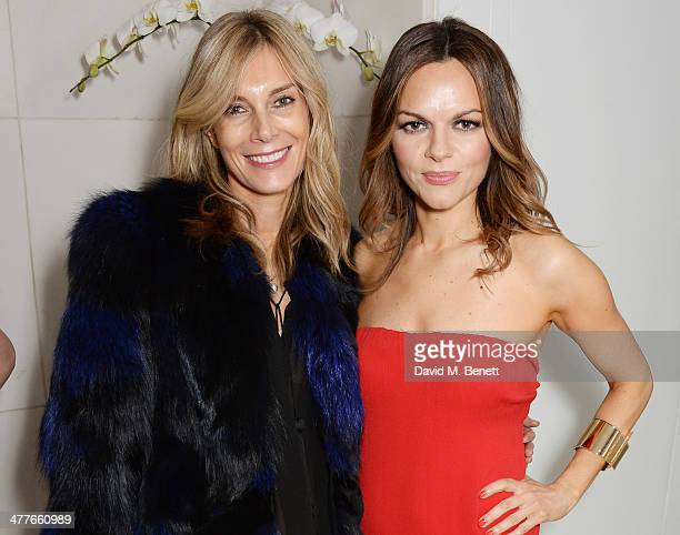 Kim Hersov and Rodial Founder Maria Hatzistefanis attend the 5th annual Rodial Beautiful Awards to celebrate women of style beauty and elegance at St...