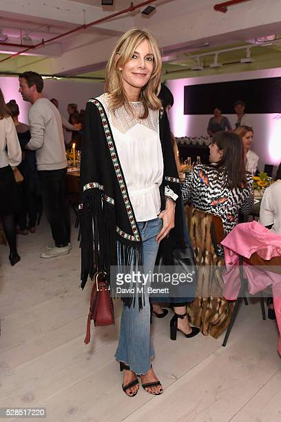 Kim Hersov attends a private dinner hosted by Mih Jeans to celebrate their 10th anniversary at Brewer Street Car Park on May 5 2016 in London England