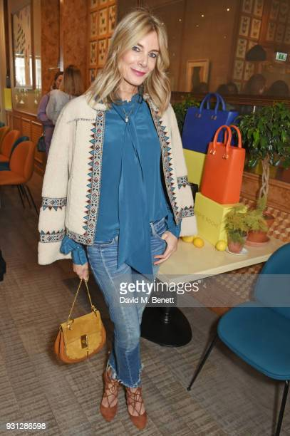 Kim Hersov attends the Espie Roche launch breakfast at The Chess Club on March 13 2018 in London England