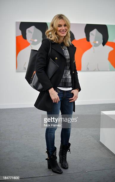 Kim Hersov attends the private view for Frieze on October 16 2013 in London England