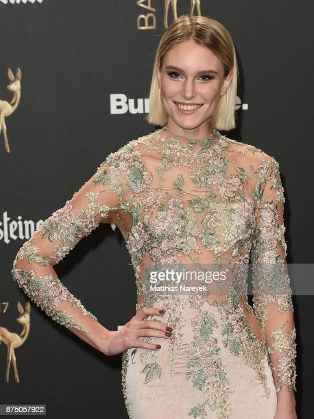 Kim Hnizdo arrives at the Bambi Awards 2017 at Stage Theater on November 16 2017 in Berlin Germany