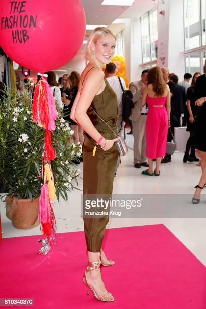 Kim Hnizdo attends the Gala Fashion Brunch during the MercedesBenz Fashion Week Berlin Spring/Summer 2018 at Ellington Hotel on July 7 2017 in Berlin...