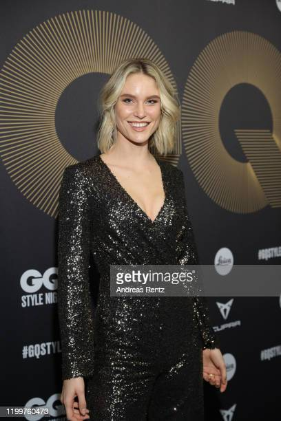Kim Hnizdo attends the GQ Style Night during Berlin Fashion Week Autumn/Winter 2020 at BRICKS Berlin on January 15, 2020 in Berlin, Germany.