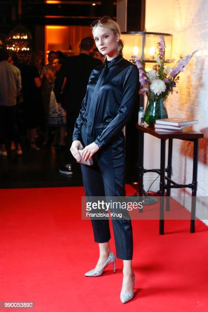 Kim Hnizdo during the Bunte New Faces Night at Grace Hotel Zoo on July 2 2018 in Berlin Germany