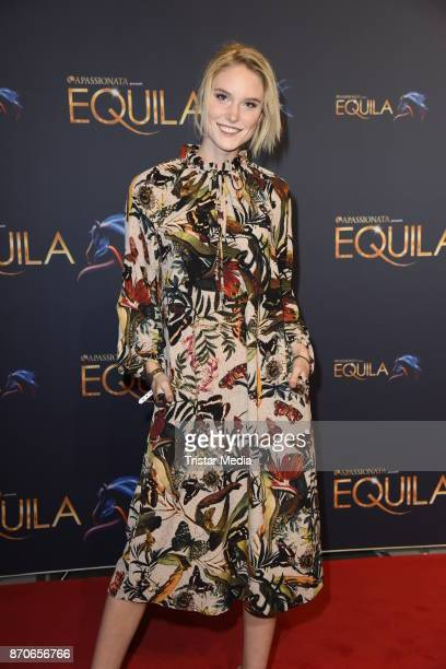 Kim Hnizdo during the world premiere of the horse show 'EQUILA' at Apassionata Showpalast Muenchen on November 5 2017 in Munich Germany