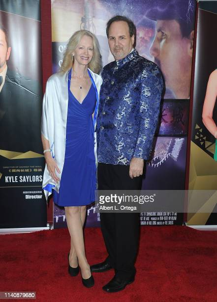 Kim Holland and Kevin Foster attend the Premiere Of Against The Wall held at Laemmle Monica Film Center on May 2 2019 in Santa Monica California