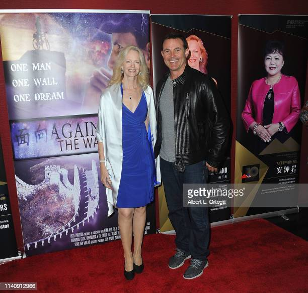 Kim Holland and Paul Lubicz attend the Premiere Of Against The Wall held at Laemmle Monica Film Center on May 2 2019 in Santa Monica California