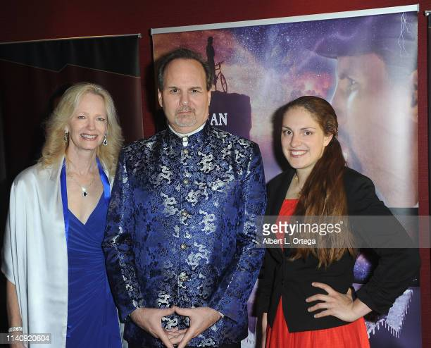 Kim Holland Kevin Foster and Angela Efros attend the Premiere Of Against The Wall held at Laemmle Monica Film Center on May 2 2019 in Santa Monica...