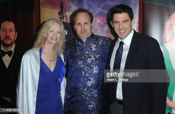 Kim Holland Kevin Foster and William O London attend the Premiere Of Against The Wall held at Laemmle Monica Film Center on May 2 2019 in Santa...