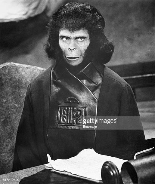 Kim Hunter appears as an ape in Planet Of The Apes in 1968